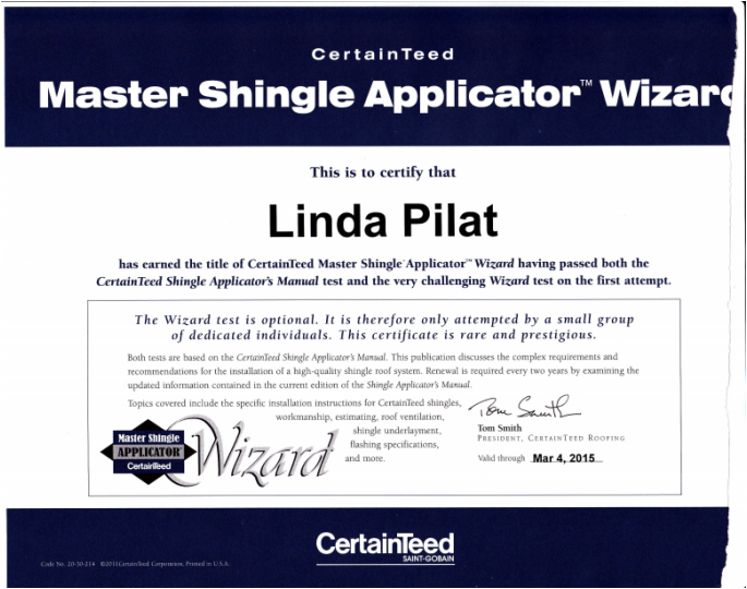 Wizard Certification